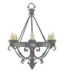 custom wrought iron lights hand forged chandeliers hacienda lights in custom wrought iron chandeliers