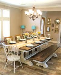 2 farm dining room table farm style chairs farmhouse dining room table
