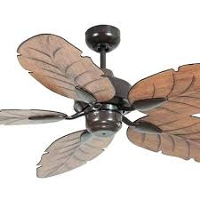 harbor breeze ceiling fan with palm leaf blades leaf blade ceiling fan new moulded abs outdoor