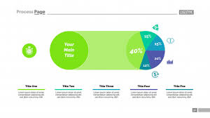 Pie Chart Templates New Five Sectors Pie Chart Slide Template Vector Premium Download