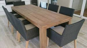 wood patio dining table creative dining room diy outdoor dining table home design s outdoor table design