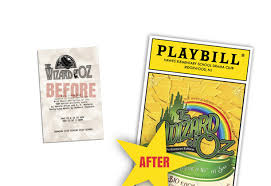 Create A Programme For An Event Playbillder Create Your Own Playbill For Your School Or Amateur