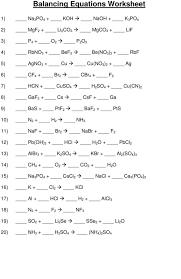 astounding chemfiesta balancing equations worksheet answers jennarocca chemical middle scho balancing chemical reactions worksheet worksheet um