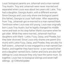 best ddddddd images celebs one direction and  information on louis family s etc so all of louis siblings are half siblings since jay has been three different guys all throughout louis
