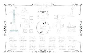 seating plan template word wedding free chart round table classroom reception charts new format