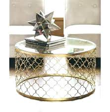 small gold side table side tables gold and glass side table medium size of round glass small gold side table