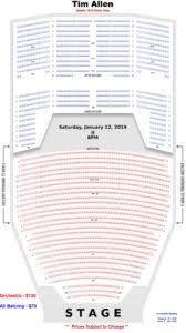 William Saroyan Theatre Fresno Seating Chart Tim Allen Live On Stage Fresno Convention Center