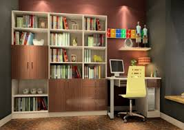 inspiration about oak bookcase with wall unit design 3d house regarding study wall unit designs