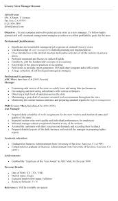 Ideas Collection Retail Clothing Store Manager Resume Sample To