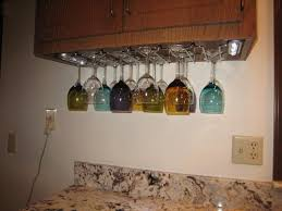 image of colored wine glass rack