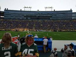 Lambeau Field Section 119 Home Of Green Bay Packers