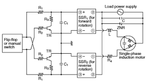 ssr s cautions for use automation controls industrial devices transistor driven reversible motor control circuit