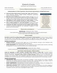 Clinical Research Coordinator Resume Sample Clinical Research Manager Sample Resume Fresh Clinical Research 10