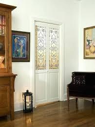 interior bifold doors interior doors bistro decorative glass door with gray and white design solid wood interior bifold doors