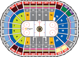 Boston Bruins Arena Seating Chart Best Seats At Td Garden Td Garden Concert Seat Views