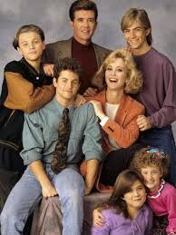 alan thicke growing pains. Beautiful Thicke The Growing Pains Cast In 1991 From Left Leonardo DiCaprio Alan Thicke  And Jeremy In O