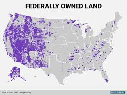 federal government land map  business insider