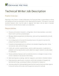 technical writer job description jpg cb  technical writer job descriptionposition overviewreporting to the director of s marketing the technical writer
