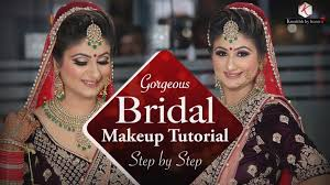 gorgeous indian bridal makeup easy bridal makeup tutorial indian weddings krushhh by konica all makeup videos