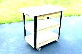 outdoor food prep table with sink how to build an stainless steel kitchen cart canada ca