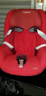 maxi cosi pearl car seat with isofix car base
