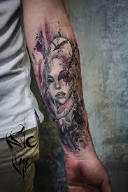 тату акварель тату акварель Tattoo Tattoo Girl тату