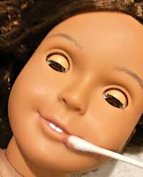 makeup put the american braces on your doll step by directions how to turn a