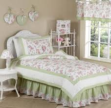 riley s roses chenille fl childrens bedding 4 pc twin set