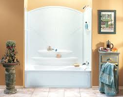 one piece tub shower units. one piece bathtub surround unit tub . shower units i
