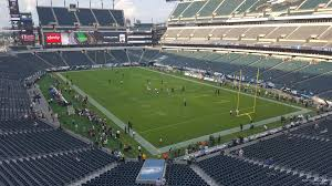 seat view for lincoln financial field section m8 row 13