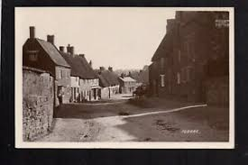 floore village street scene near