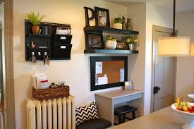 Kitchen Message Center 5 Mini Home Organizing Makeover Tips Amy Volk Live Better