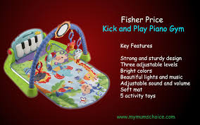 fisher kick and play piano gym baby toys