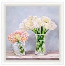 Купить <b>Репродукция</b> Декарт <b>Тюльпаны</b> в интернет-магазине на ...