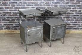 Vintage metal furniture Polished Steel Metal Cabinets Metal Cabinets Industrial Lamp Vintage Table Vintage Bedside Polish Ebthcom Vintage Cup New 271 Vintage Metal Cabinets