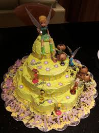 Tinkerbell Cake Childrens Birthday The Restaurant Fairys Kitchen