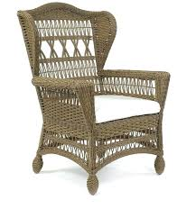 wicker wingback chair outdoor wicker chair page 2 discontinued items styling takes a breather from the wicker wingback chair