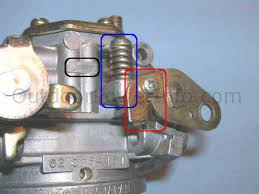 disassembly cleaning and repair of kohler command v twin nikki kohler command v twin nikki carburetor idle speed screw