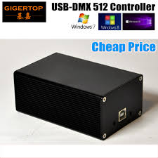 Usb To Dmx Interface With Lighting Software China Dmx512 Stage Light Controller Box Hd512 Universal Usb
