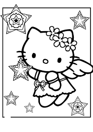Check out our hello kitty coloring selection for the very best in unique or custom, handmade pieces from our coloring books shops. Free Printable Hello Kitty Coloring Pages Coloring Home