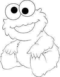Small Picture Cute cookie monster coloring pages ColoringStar