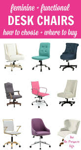 Feminine office chair Tufted Feminine Desk Chairs In Different Colors The No Pressure Life 22 Functional Feminine Desk Chairs and How To Choose One