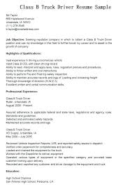 Objective For Truck Driver Resume Tow Truck Driver Resume 93