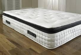 king pillow top mattress. 2000 Pocket Spring Pillow Top Orthopaedic Organic Mattress (5ft King Size) (