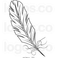 turkey feather clipart black and white.  Feather Turkey Feather Clipart Black And White  Panda  Free  Inside