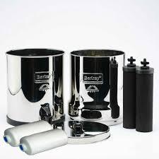 berkey water filter fluoride. Crown Berkey Water Filter 6 Gallon Filter, Black Purifier Filters, PF2 Fluoride T