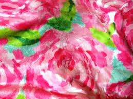 Lilly Pulitzer Fabric Designs By Dees Hands Lilly Pulitzer Fabric Velveteen Fleece