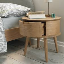 round bedside tables best 25 nightstand ideas on inside table prepare 18 architecture risom round side