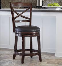 Ashley Furniture Porter Counter Height X-Back Upholstered Swivel ...