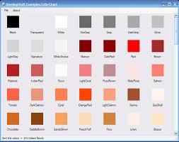Screen Shot Colorchart Jacob Good Flickr